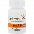 Celebrate Iron + C 30 chewable tabs