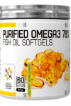 Purified Omega3 78% + VitE 1000mg 60 gels